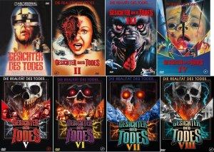Gesichter Des Todes 1 8 Uncut Dvd 8x Kleine Hartboxen